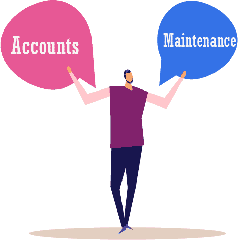 Our accounting and maintenance services in Offshore Management